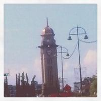 Photo taken at Dataran Jam Besar Sungai Petani by Z_I W. on 8/5/2012