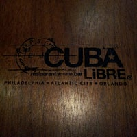 Photo taken at Cuba Libre Restaurant & Rum Bar by Patricia G. on 7/15/2012