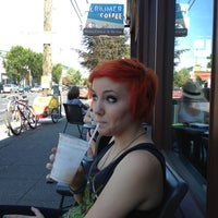 Photo taken at Herkimer Coffee by Eric Scott T. on 8/16/2012