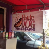 Photo taken at Haute Dog Carte by Rachel K. on 4/19/2012