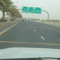Photo taken at Al Khawaneej Road شارع الخوانيج by Abdulla B. on 5/26/2012