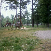 Photo taken at Parco Silvio Alvisi by Laura T. on 4/29/2012