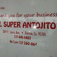 Photo taken at El Super Antojito-Taco Truck by David J. F. on 4/29/2012
