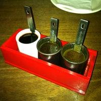 Photo taken at Momo Sushi Shack by Angela on 8/18/2012