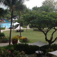 Photo taken at Shangri-La's Mactan Resort and Spa by Jane E. on 6/4/2012