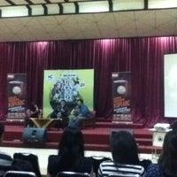 Photo taken at Universitas Islam Bandung (UNISBA) by arga p. on 2/24/2012