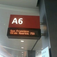 Photo taken at Gate A6 by Theofrenz C. on 9/13/2012