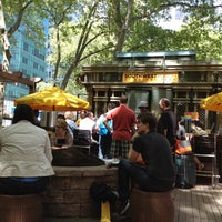 Photo taken at Southwest Porch at Bryant Park by Danielle F. on 5/12/2012