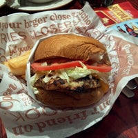 Photo taken at Red Robin Gourmet Burgers by james k. on 2/11/2012
