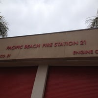 Photo taken at SDFD Fire Station 21 by ED P. on 6/9/2012
