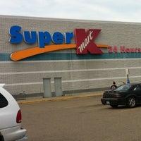 Photo taken at Super Kmart by Melissa N. on 3/20/2012