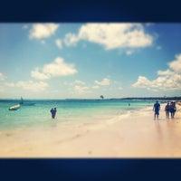 Photo taken at Los Corales Beach by José L. on 4/29/2012