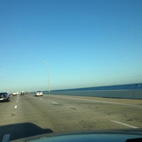 Photo taken at Howard Frankland Bridge by Jaime S. on 6/18/2012
