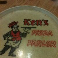 Photo taken at Ken's Pizza Parlor by Jordan D. on 3/26/2012