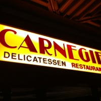 Photo taken at Carnegie Deli by Baby H. on 4/20/2012