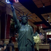 Photo taken at Red Robin Gourmet Burgers by Neena B. on 10/2/2011
