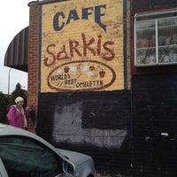 Photo taken at Sarkis Cafe by Jordan W. on 11/24/2011