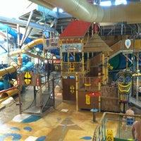 Photo taken at Splash Lagoon by Damon B. on 8/14/2012