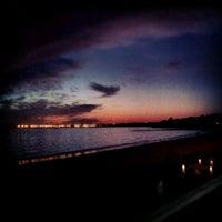 Photo taken at Playa de Fuentebravía by Alvaro B. on 9/3/2012