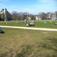 Photo taken at URI Quad by Jay S. on 3/19/2012