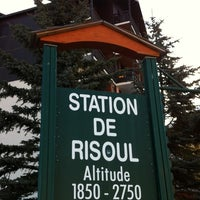 Photo taken at Risoul 1850 by Renaud F. on 2/29/2012