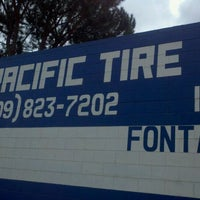 Photo taken at Pacific Tire Service by Nate H. on 2/19/2011
