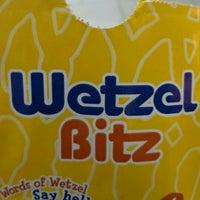 Photo taken at Wetzel's Pretzels by Yesenia M. on 11/8/2011