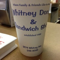 Photo taken at Whitney Donut Shop by Janice C. on 1/27/2012