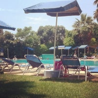 Photo taken at Hotel Pool by Anna A. on 7/12/2012