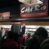 Photo taken at Cafe Rio Mexican Grill by Derek C. on 12/10/2011