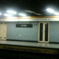 Photo taken at Metro Lo Vial by Patricio A. B. on 1/22/2012