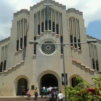 Photo taken at National Shrine of Our Mother of Perpetual Help by Nora A. on 4/5/2012