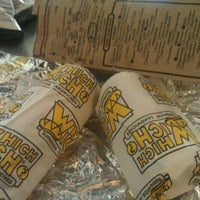 Photo taken at Which Wich? Superior Sandwiches by Edward B. on 12/9/2011
