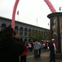 Photo taken at Susan G Komen Race For The Cure by Nancy P. on 9/25/2011