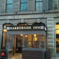 Photo taken at Harborside Inn by Gerard S. on 4/11/2011