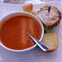 Photo taken at La Bou Bakery Cafe by Karla F. on 6/29/2011