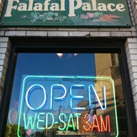 Photo taken at Moody's Falafel Palace by BostonTweet on 12/22/2010