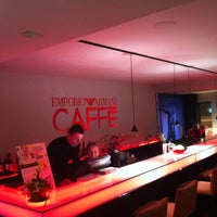 Photo taken at EMPORIO ARMANI CAFFE by ---- -. on 11/6/2011