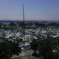 Photo taken at San Diego Marriott Convention Center Skywalk by Le Q. on 9/23/2011