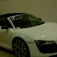 Photo taken at Audi Warwick by Billie-Jo M. on 10/11/2011