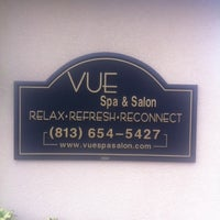 Photo taken at Vue Spa & Salon by Calvin H. on 8/28/2011