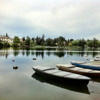 Photo taken at Sesto Calende by Elena on 6/14/2012