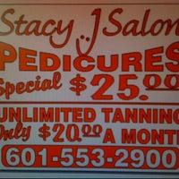 Photo taken at Stacy j salon by Lindsey W. on 8/19/2011