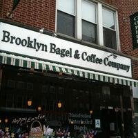 Photo taken at Brooklyn Bagel & Coffee Company by J. D. on 4/8/2011