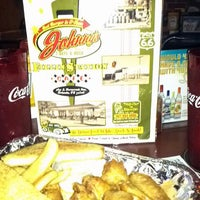 Photo taken at Johnny's Fillin' Station Restaurant by Pamela M. on 9/17/2011