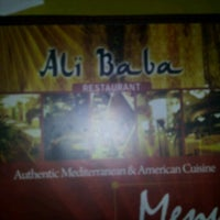 Photo taken at Ali Baba Restaurant by Lorrie M. on 1/6/2012