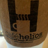 Photo taken at Café Helios by Nick C. on 9/4/2011