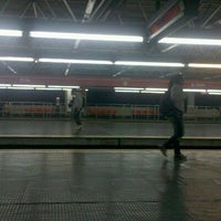 Photo taken at Estação Brás (Metrô) by Rodrigo S. on 8/8/2011