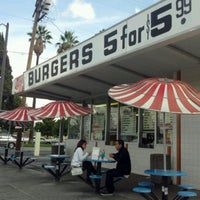 Photo taken at Burger Bar by Andrea Castaneda on 10/4/2011
