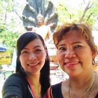 Photo taken at พระบรมสารีริกธาตุ วัดพระศรีมหาธาติ by Nok V. on 4/18/2012
